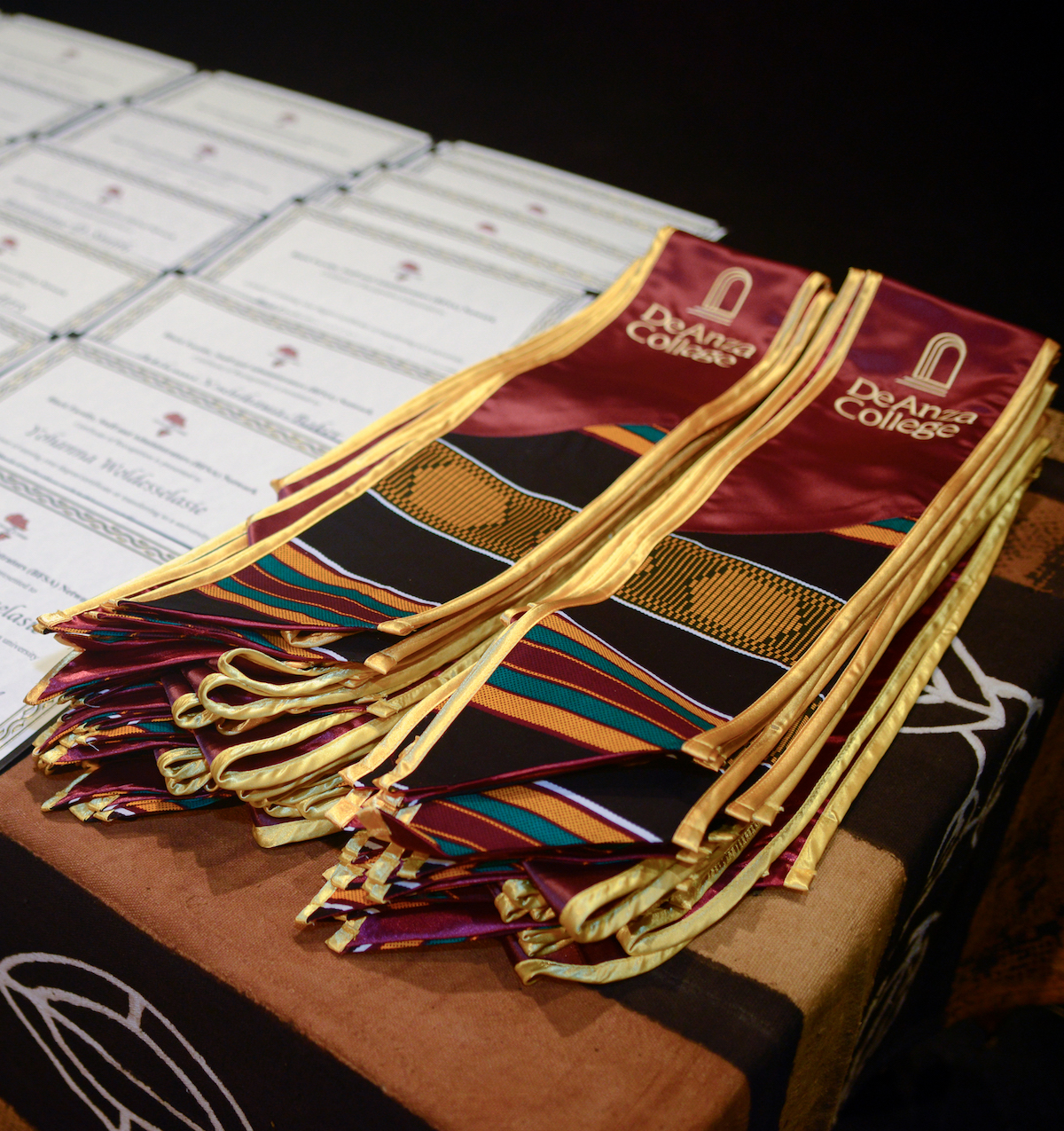 sashes for grad ceremony